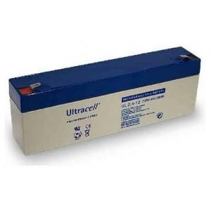 ULTRACELL UL2.4-12 - bateria Carregável 12 v - 2.4 ah. dimensões: 178 x 35 x 60 mm